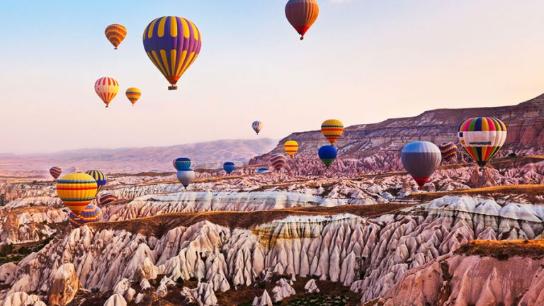 Globos aerostáticos en Capadocia