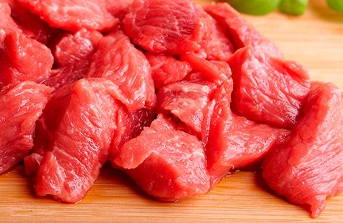 carne de res en cuadros