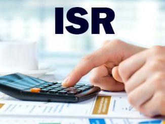 calcular el ISR