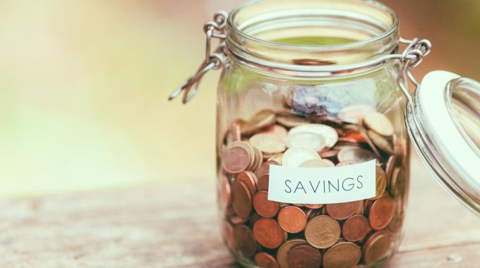 tarro de ahorros