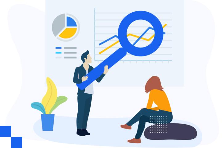 Personas calculando rendimiento de inversión