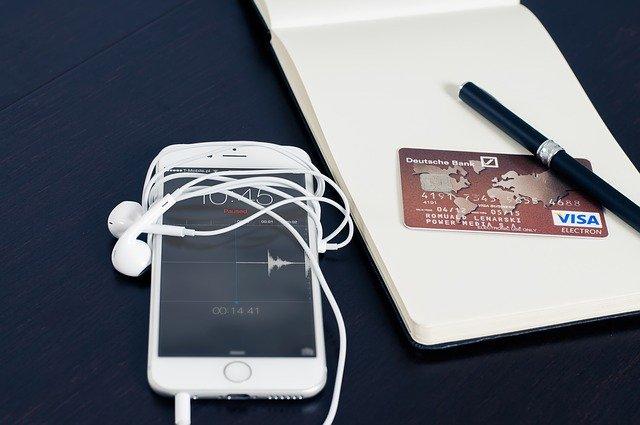 Trajeta de crédito: hacer transacciones